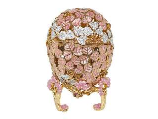 New Swarovski Crystal Pink Faberge Egg w/ Music Box