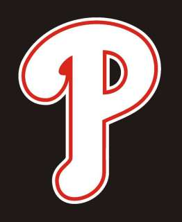 Philadelphia Phillies P Logo Decal Sticker 6 #3ba