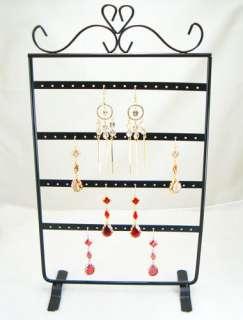 Black Jewelry Holder Display Rack for Earrings d011