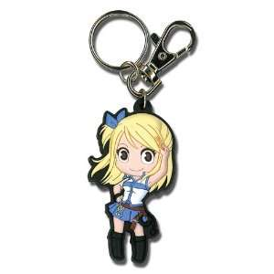 Fairy Tail Lucy Heartfilia SD PVC Keychain by Great Eastern