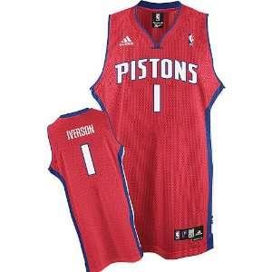 Allen Iverson #1 Detroit Pistons Swingman Alternate Jersey