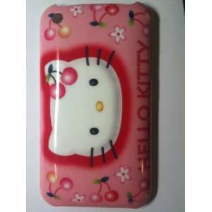 Hot Pink Kitty Designer Snap Slim Hard Case Back Cover for