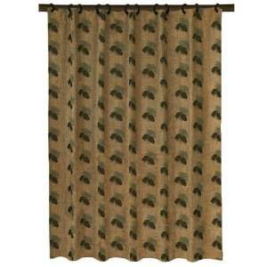 Pine Cone Shower Curtain Home & Kitchen
