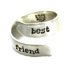 Handcrafted Far Fetched Best friend 925 Sterling Silver