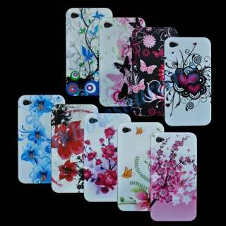 10x New Silicone Cover Case Skin For Apple iPhone 4 4G