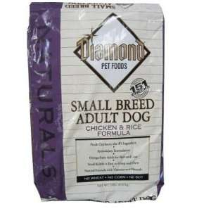 Diamond Naturals Chicken Rice Small Breed Dog Food 18lb: Pet Supplies