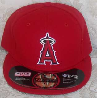 NEW ERA ANAHEIM ANGELS CAP MLB COOL BASE FITTED HAT
