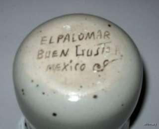 El Palomar Mexican Pottery Stoneware Creamer Blue Bird