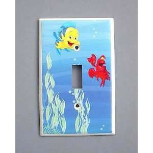 Little Mermaid Princess Ariel FLOUNDER SEBASTIAN Switch