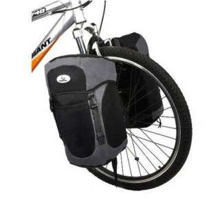 2012 Cycling Bicycle Bag Bike front Fork bag pannier Basket + Rack