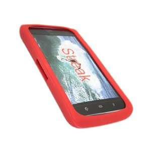 SoftSkin RED Silicone Case Cover Skin for Dell Streak Electronics