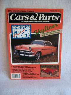 Cars & Parts Magazine August 1990 1954 Ford Skyliner