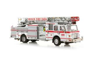 TWH   Pierce Velocity 75 HAL Ladder Truck Frisco F.D. 093 01153