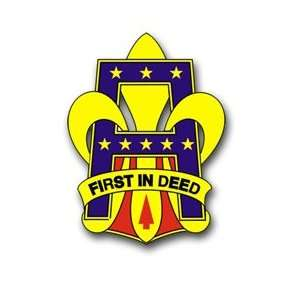 United States Army First US Army Unit Crest Patch Decal