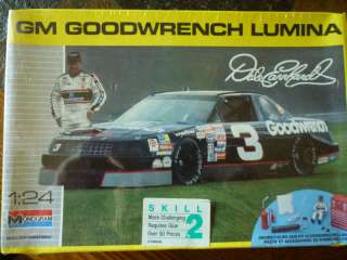 Dale Earnhardt GM Goodwrench Lumina Monogram Model Kit