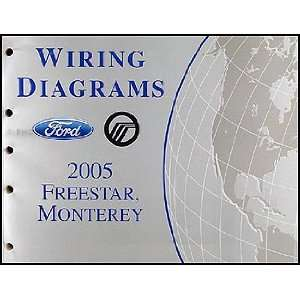 2005 Ford Freestar & Mercury Monterey Wiring Diagram