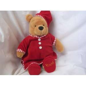 Winnie the Pooh Plush Toy ; Red Nighshirt Christmas Valentines Day 15