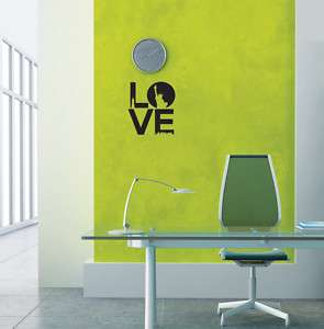 Love New York Wall Decor Removable Sticker Art Decals