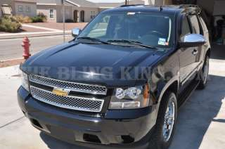 Chevy Suburban chrome grille grill bentley mesh insert