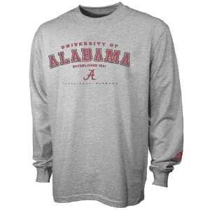 adidas Alabama Crimson Tide Ash Youth Ambush Long Sleeve T