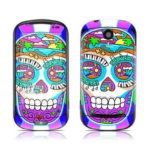 Skull Of Rock Design Protective Skin Decal Sticker for LG