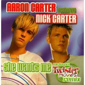 Wants Me Special Twister Moves Remix Aaron Carter, Nick Carter Music