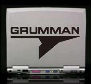 Grumman Logo Vinyl Decal Sticker 14 Colors to Choose