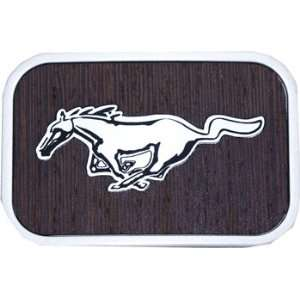 Official FORD MUSTANG Logo Belt Buckle WOOD Grain Everything Else