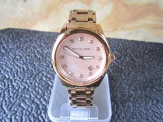 Michael Kors Womens Rose Gold Mother Of Pearl Watch MK5311 F19