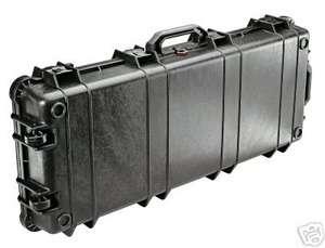 Pelican Protect  1750 Black  Hard Gun Case w/ Wheels  Fits Rifles