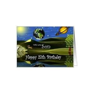 Birthday ~ Son / Age Specific 27th ~ Planet Taro Card: Toys & Games