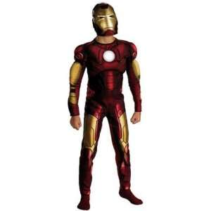 Child Deluxe Muscle Chest Iron Man Costume Toys & Games