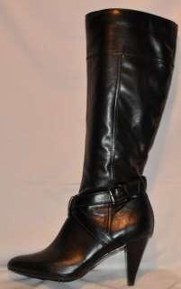 ALFANI Bernie Black Knee High High Heel Tall Boots Womens Size 9.5M