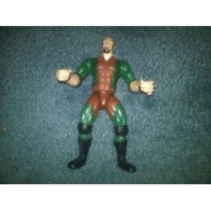 WWF Jakks Headbangers Thrasher Action Figure   WWF
