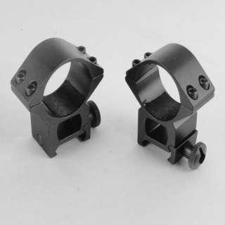 inch Weaver 20mm High profile Heavy Duty Scope Rings