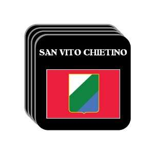 Italy Region, Abruzzo   SAN VITO CHIETINO Set of 4 Mini
