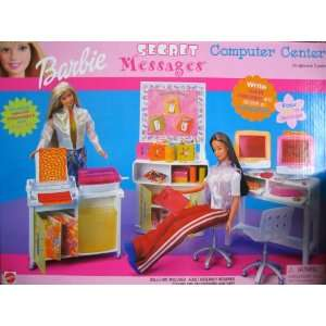 Barbie Secret Messages Computer Center Playset (2000
