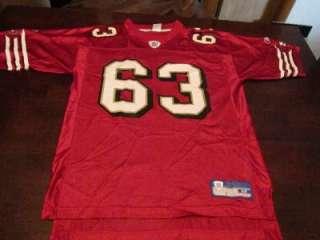 EUC Reebok Mens Custom Austin San Francisco 49ers #63 NFL Football