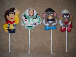 "This listing is for 1 Chocolate Icing Decoration ""Toy Story"
