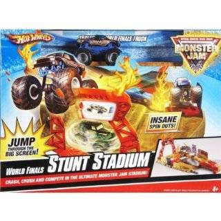 Hot Wheels Monster Jam World Finals Stunt Stadium