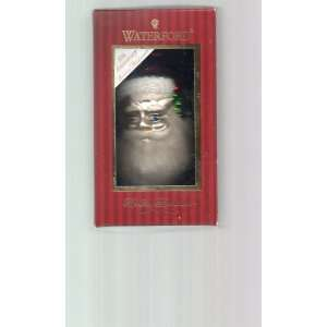 Waterford Holiday Heirlooms Christmas Ornament Santa Head