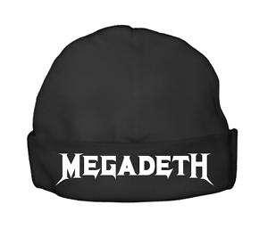 megadeth baby beanie beenie hat cap newborn top clothes