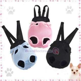 Nylon Pet Dog Carrier Backpack Net Bag ANY SIZE & COLOR