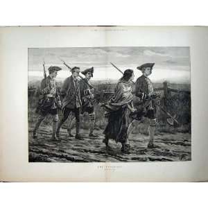 1882 War Army Deserter Prisoner Woman Dadd Fine Art