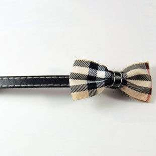 Gift Girl Beige Ribbon Bow Bowknot Long Barrette Clip Pin Hair