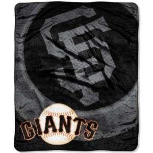 San Francisco Giants Super Plush Fleece Throw Blanket