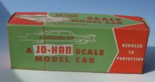 1959~Jo Han DODGE CUSTOM ROYAL Dealer Promo w. Friction Motor & RARE