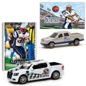 Card & Ford F 150 w/ Sticker Patriots L. Maroney