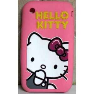 HELLO KITTY IPHONE 3G 3GS CASE COVER SILICONE