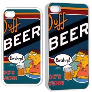 buff beer brahrp iPhone Hard Case 4s White Cell Phones